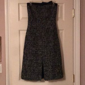 Sleeveless tweed Express dress.